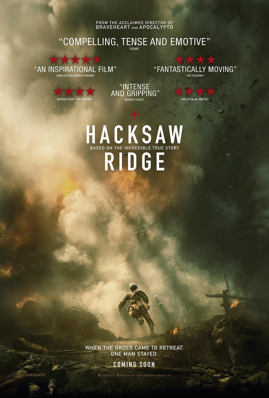 Hacksaw Ridge MovieReview