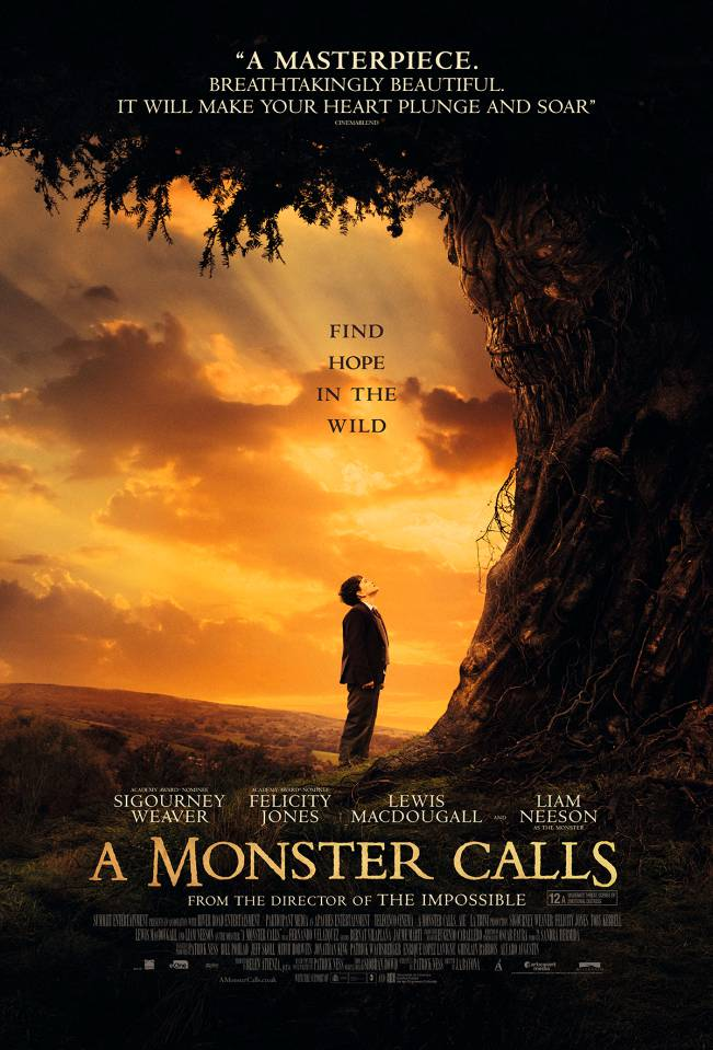 A Monster Calls MovieReview